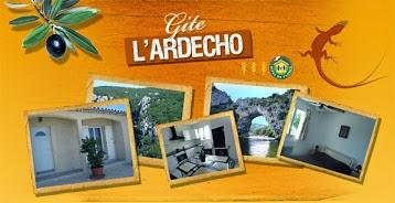 L'Ardécho - Gîte en sud Ardèche