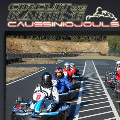 Karting de Caussiniojouls