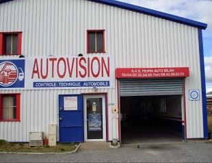 Contrôle technique Autovision Peipin