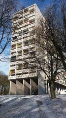 La Cité Radieuse - Résidence Le Corbusier